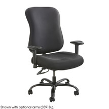 Safco Optimus Big & Tall Chair - 400lb Capacity (Order Arms Separately)