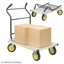 Safco STOW AWAY® Platform Trucks