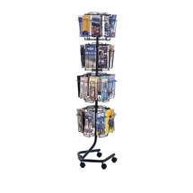 Safco Wire Brochure Display Rack