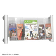 Safco Luxe™ Magazine Rack - 3 pocket