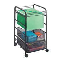 Safco Onyx™ Mesh Open File with Drawers