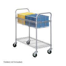"""Safco Wire Mail Cart, 36""""W"""