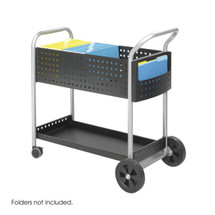 """Safco Scoot™ Mail Cart, 32""""W"""