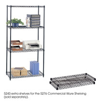 "Safco Commercial Extra Shelf Pack, 36 x 18""  (Qty. 2)"