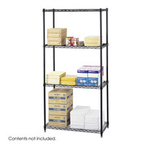 Safco Commercial Wire Shelving, 36 x 18""