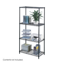 Safco Industrial Wire Shelving, 36 x 18""