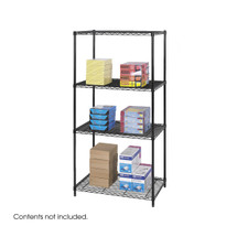Safco Industrial Wire Shelving, 36 x 24""
