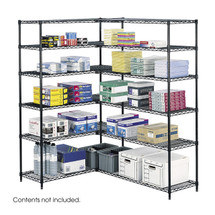 Safco Industrial Wire Shelving, 48 x 18""