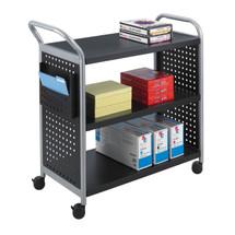 Safco Scoot™ 3 Shelf Utility Cart