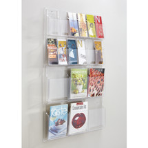 Safco Reveal™  6 Magazine and 12 Pamphlet Display