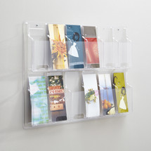 Safco Reveal™  12 Pamphlet Display