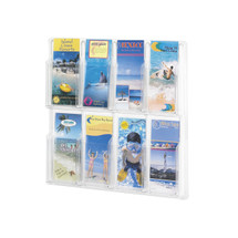 Safco Reveal™ 8  Pamphlet Display