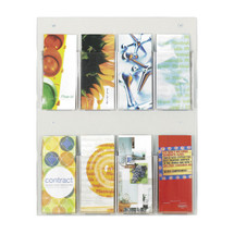 Safco Clear2c™  8 Pamphlet Display