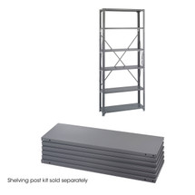 Safco 36 x 12 Industrial 6 Shelf Pack