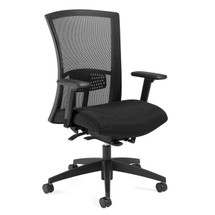 VION-Mesh High Back Weight Sensing Synchro - Tilter Chair 6321-8ASBK-UR22