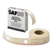 Safco Film Laminate Carrier Strips for MasterFile 2
