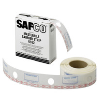 "Safco 2-1/4""W Polyester Carrier Strips for MasterFile 2"