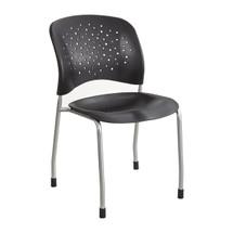 Safco Rêve™ Guest Chair Straight Leg Round Back (2 Per Carton)