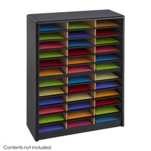 Safco Value Sorter Literature Organizer, 36 Compartment