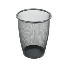 Safco Onyx™ Mesh Round Wastebasket (Qty.3)