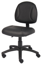 Boss Black Posture Chair Without Arms B305