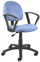 Boss Microfiber Task Chair with Loop Arms B327