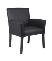 Boss Executive Box Arm Chair B639-BK