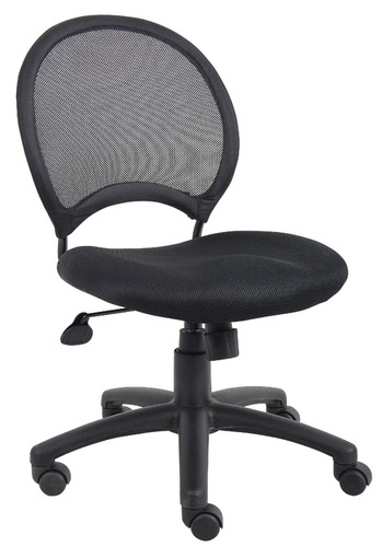 Boss Mesh Chair Without Arms B6215