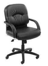Boss Mid Back Caressoft Chair B7406