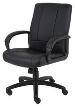 Boss Caressoft Executive Mid Back Chair B7906