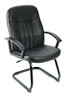 Boss Executive Leather Budget Guest Chair B8109