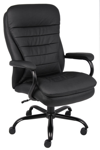 Boss Heavy Duty Double Plush Caressoftplus Chair - 350 Lbs B991-CP