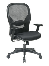 Office Star Breathable Mesh Back Chair with Mesh Fabric Seat 2300