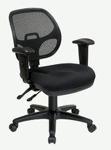 Office Star Ergonomic Task Chair with ProGrid® Back and Adjustable Arms 29024-30