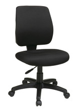 Office Star Task Chair with Ratchet Back Height Adjustment without Arms 33101-30
