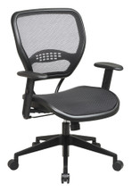 Office Star AirGrid® Seat and Back Deluxe Task Chair 5560