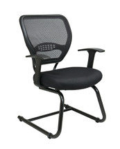 Office Star AirGrid® Back Visitors Chair with Mesh Seat 5505