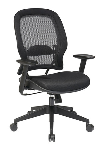 Office Star AirGrid® Back and Mesh Seat Managers Chair 5540