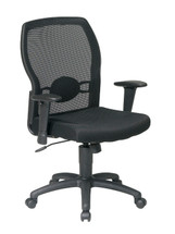 Office Star Woven Mesh Back Chair 599302