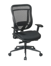 Office Star Executive High Back Chair with Breathable Mesh Back and Mesh Seat 818-31G9C18P