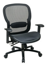 Office Star Matrix Back with Adjustable Lumbar Support 839-11B35WA