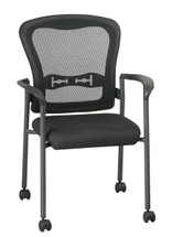 Office Star Visitors Chair with Arms and Breathable Mesh ProGrid® Back 84540-30