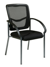 Office Star ProGrid® Back Visitors Chair with Arms 85670-30