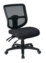 Office Star Ergonomic Task Chair with ProGrid® Back and Ratchet Back Height Adjustment without Arms 98341-30