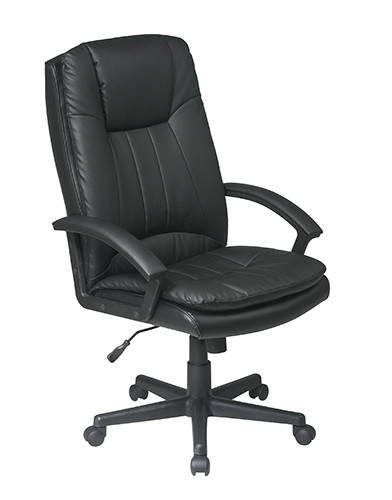 Office Star High Back Executive Eco Leather Chair EC22070-EC3