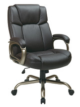 Office Star Executive Eco Leather Big Man's Chair ECH12801-EC1