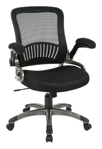 Office Star Screen Back and Mesh Seat Managers Chair EM35207-3