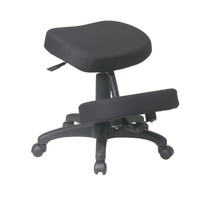 Office Star Ergonomically Designed Knee Chair Featuring Memory Foam Model KCM1425