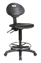Office Star Intermediate Ergonomic Drafting Chair with Adjustable Footrest