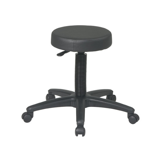 Office Star Backless Drafting Stool with Nylon Base